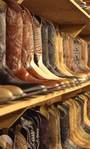 Cowboy clothing store. Online clothing stores